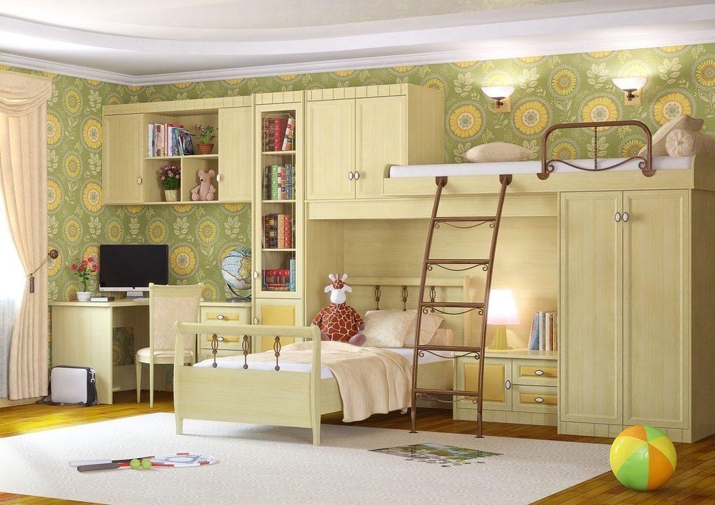 Детская комната итальянский мотив (мотив-5), мебель гармония.